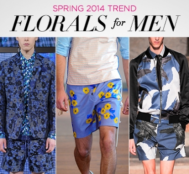 Spring 2014 Trend: Florals for Men