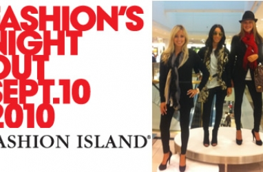 Fashion's Night Out at Fashion Island in Newport Beach