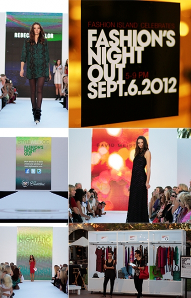 Fashion Island and Neiman Marcus celebrate Fashion's Night Out