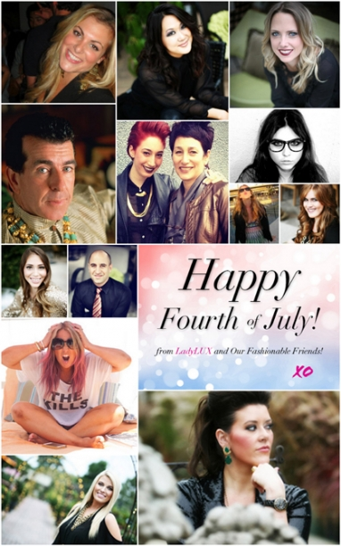 LadyLUX & friends share favorite Fourth of July memories, traditions and recipes