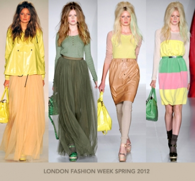 LFW Spring 2012: Mulberry