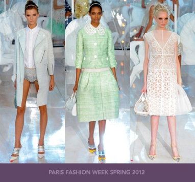 Paris Fashion Week Spring 2012: Louis Vuitton