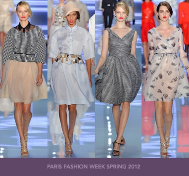 Paris Fashion Week Spring 2012: Christian Dior