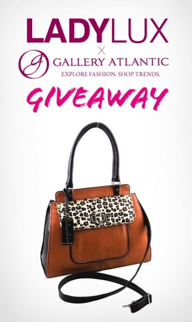 LadyLUX + Gallery Atlantic Chocolate Handbag Giveaway