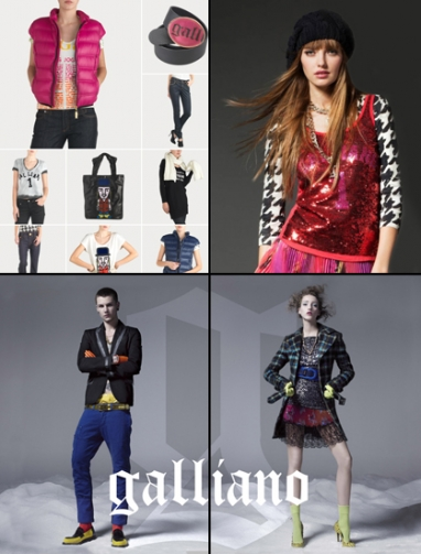 Galliano dips toe into e-commerce