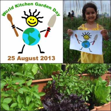 Celebrating Organic Goodness on World Kitchen Garden Day