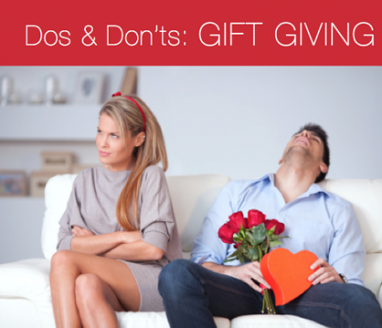 Ask Drew: The Dos & Don'ts of Gift Giving