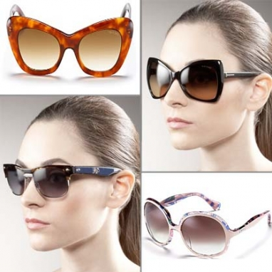 LUX Look: Old School Sunglass Glamour