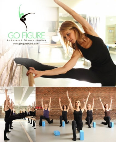 Cindy Sites, founder of Go Figure Barre Studios, discusses her unique classes and new NYC digs