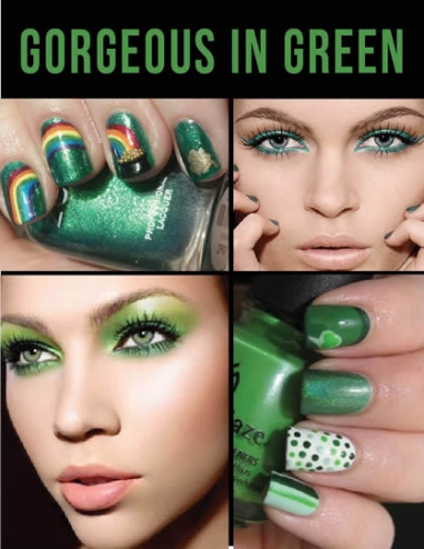LUX Beauty: Green Glamour for St. Patrick's Day