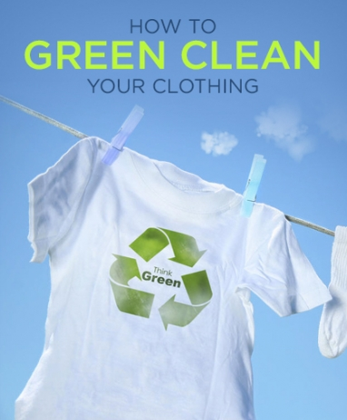 12 Tips to Green Clean Your Clothes