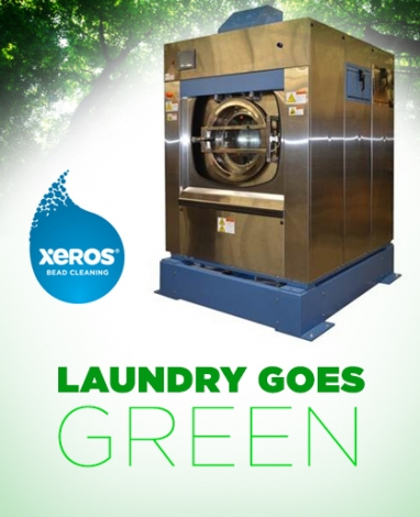 Xeros waterless laundry technology arrives in North America