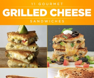 11 Gourmet Grilled Cheese Recipes
