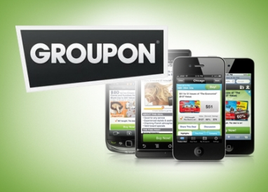 Daily deals site Groupon goes mobile with new app