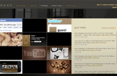 Gucci unveils digital flagship