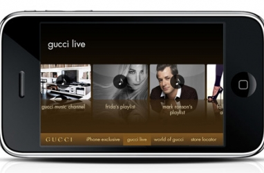 Gucci Reveals New iPhone/iPod App