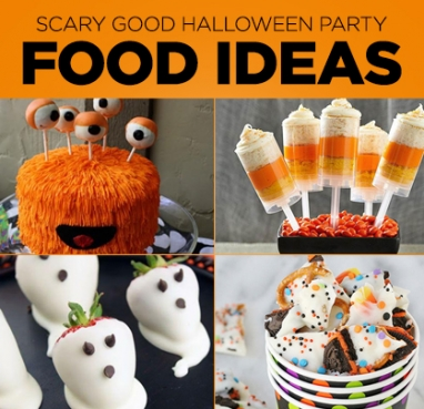 Frightfully Good Halloween Party Food