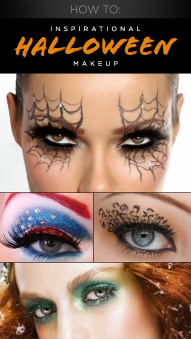 How To: 4 Inspirational Halloween Makeup Ideas