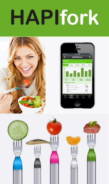 High-Tech Fork Helps Users Improve Eating Habits