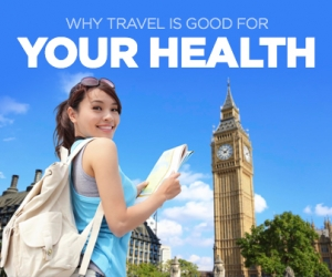 Travel is Good for Your Health