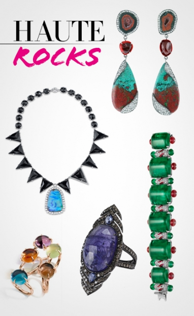 Fall 2013 Jewelry: Haute Rocks