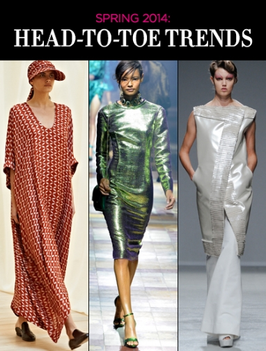 Spring 2014: The Head-to-Toe Trend