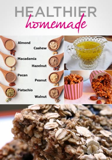 Healthier Homemade: 7 Recipes to Try at Home