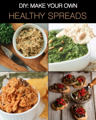 10 Healthy Spreads and Dips