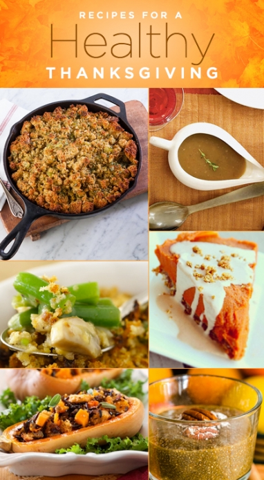 9 Recipes for a Healthy Thanksgiving