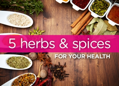 Top 5 Herbs for Good Health