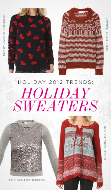 Holiday 2012 Trends: Holiday Sweaters
