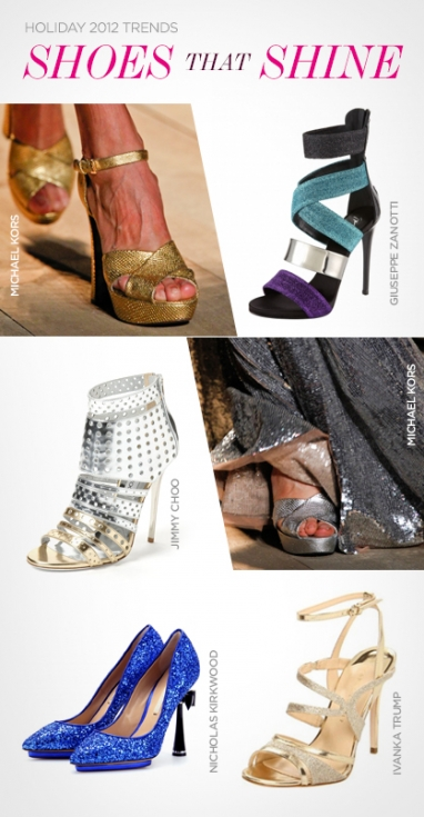 Holiday 2012 Trends: Shoes that Glitter