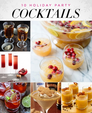 LUX Party: 10 Festive Holiday Cocktails
