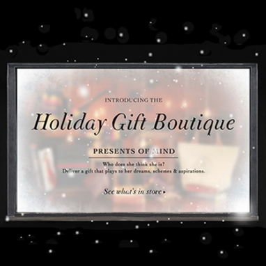 Shopbop.com Holiday Gift Boutique