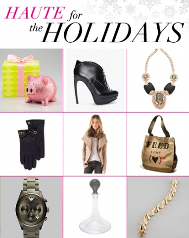 The 2012 LadyLUX Haute for Holidays Guide is Here!