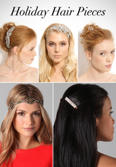 LUX Hair: Holiday Hair Pieces
