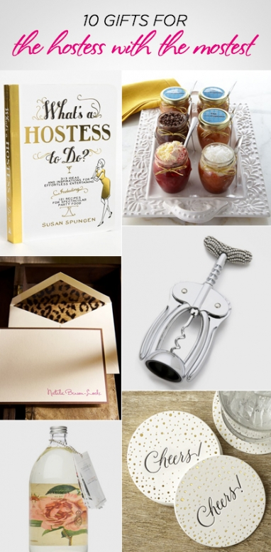 10 Gifts for The Hostess