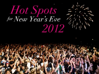 Best cities to celebrate New Year's Eve 2012