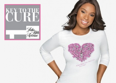 Jennifer Hudson key to Saks' Key to the Cure campaign