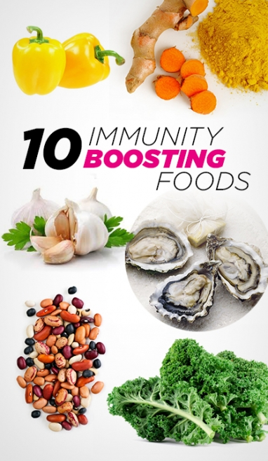 Wellness Wednesday: 10 Immunity Boosting Foods