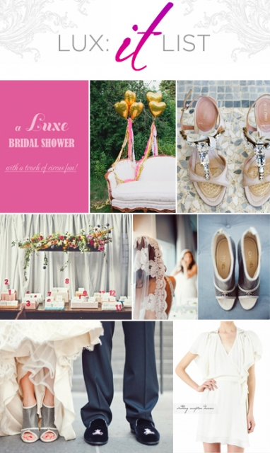 "LUX ""It"" List: Top 5 Wedding Posts"