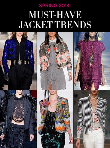Spring 2014: Trends in Jackets