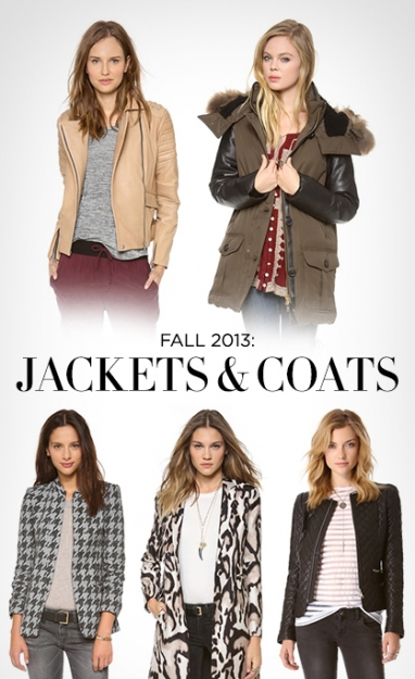 LUX Style: Fall 2013 Jackets & Coats