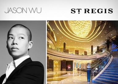 Jason Wu tackles hotel industry as connoisseur at the St. Regis Hotels & Resorts