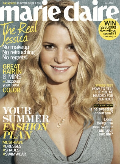 "Radar: Marie Claire says ""no"" to retouching"