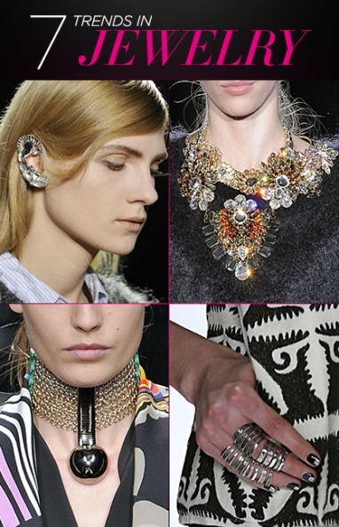 Fall 2013: 7 Jewelry Trends