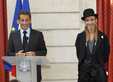 Radar: Sarkozy Awards Galliano with Legion of Honor