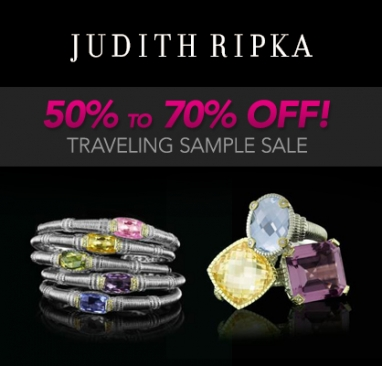 Judith Ripka, her jewelry and her SoCal sample sales