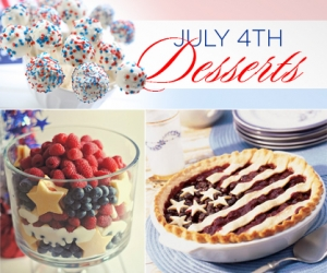 10 Patriotic Desserts for The Fourth of July