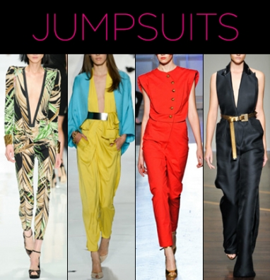 7 Jumpsuit Trends for 2013